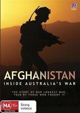 The Afghanistan - Australian War (DVD, 2016)