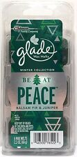 Glade Wax Melts (6)BALSAM FIR & JUNIPER Scent 2.3 oz (66g)