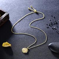 Antique Gold Shir Khorshid Lion Sun Pahlavi Necklace Iranian Persian Irani Gift