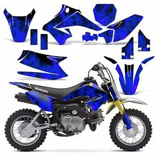 Decal Graphic Kit Suzuki DRZ 70 Dirt Bike Sticker Backgrounds DRZ70 15-16 ICE U