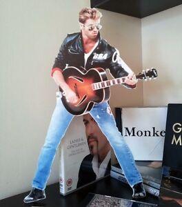 George Michael Desktop Stand Standee Figure NEW Faith Father Figure