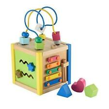 Early Learning Centre 148288 Wooden Small Activity Cube
