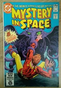 DC~Mystery In Space #115~1981~Pence Variant~Bag/board~