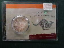 2002 1 oz Silver Kangaroo