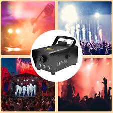 Nebelmaschine Mini Bodennebelmaschine LED 500W RGB für Party 13 farben