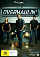 Overhaulin' : Season 6 (DVD, 2013, 3-Disc Set) New  Region 4