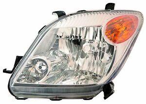 SCION XA X A 2006 06 LEFT DRIVER HEAD LIGHT FRONT LAMP HEADLIGHT