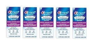 Crest 3D White Whitestrips Monthly Whitening Boost Teeth Whitening Kit 10 Strips