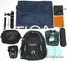 LOT OF 13 BAGS & CARRY CASES SAMSONITE GAP DOVER KIDZ NAUTICA PB TEEN COTTON BAG