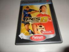 PlayStation 2 pro evolution soccer 6 [Platinum]