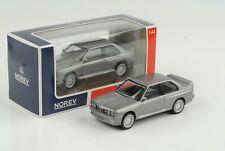 BMW M3 E30 1986 Jet Car grau metallic 1:43 Norev diecast