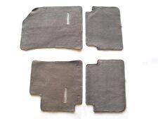 09 10 11 12 13 TOYOTA COROLLA GRAY CARPET FLOOR MATS RUGS OEM GENUINE SET #3