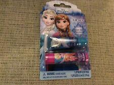 BN New Sealed Disney Frozen Grape Lip Balm & Blueberry Lip Gloss Set Anna Elsa