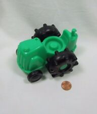Fisher Price Little People GREEN  FARM TRACTOR for Farmer Barn Large Tires #2