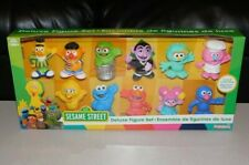 Sesame Street Deluxe Figure Set - Great Set for Collection or Gift - NIB