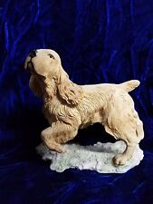 Dave Grossman English Cocker Spaniel Dog Figurine Statue Taiwan