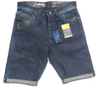 G-Star 15OZ Selvedge Shorts 'ESSENTIAL MORRIS LACC TAPERED' NEW Mens Size W30