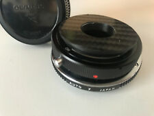 Olympus OM Mount -RMS macrophoto adapter =4 part quality metal converter adapter