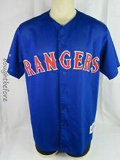 Texas Rangers Button Jersey Majestic Authentic Diamond Collection Sz XL Vtg #9