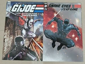 G.I.JOE: COMPLETE SILENCE COLLECTS GIJOE #21 & 21.5 FOR 1ST TIME TOGETHER + MORE