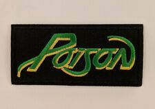 Poison Embroidered Iron-on Heavy Metal Band Patch