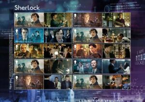 GB LS126 Sherlock Holmes collector sheet MNH 2020