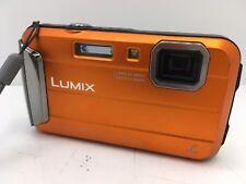 Panasonic LUMIX DMC-TS25 16.1MP Waterproof Digital Camera - Orange