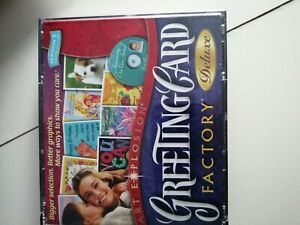 Greeting Card Factory 4 CD ROM