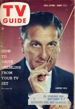 1959 TV Guide August 15 - Clint Eastwood - Rawhide; Mary Tyler Moore; Peter Gunn