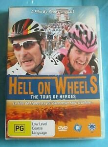 HELL ON WHEELS The Tour of Heroes DVD Tour de France 2003 DVD Region 4