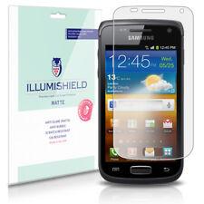 iLLumiShield Matte Screen Protector w Anti-Glare/Print 3x for Samsung Galaxy W