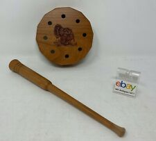 Genuinely Amish Crafted Turkey Friction Call with Striker - New, Unused