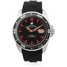 Field & Stream Mens Kinetic Automatic Quartz Black Band 100M Sport Divers Watch