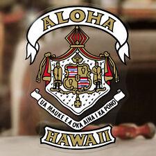 Aloha Hawaii Wappen Aufkleber Sticker Cruz Surf Skate Santa Monica LA Maui Oahu
