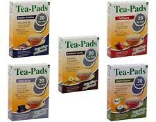 100 Teepads English Breakfast,Earl Grey,Ingwer Lemon,Vanille -Paket (für Senseo)