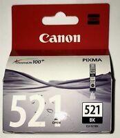 *021 2x Inchiostro Multipack Cartucce Originali Canon Pixma 521BK Black Kit 9 ml