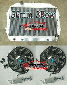 Aluminum Radiator For Nissan Datsun 260Z 240Z Fairlady Z S30 2.4/2.6 70-75 + Fan