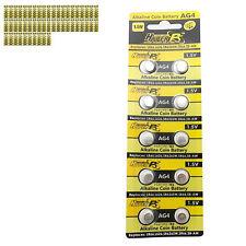 500 pcs AG4 D377 L626 SR66 SR626SW 1.5V Alkaline Button Cell Battery HyperPS