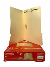 Universal Reinforced Top Tab Folders With One Fastener 13 Tabs Letter Unv13410