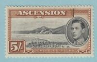 ASCENSION ISLAND 48a MINT LIGHTLY HINGED OG * NO FAULTS  VERY FINE!