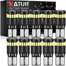 Xenon T10 Car Bulbs Led Error Free Canbus Cree Smd White W5w 501 Side Light Bulb