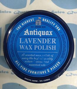 Antiquax Lavender Wax Polish 100ml Quality Lavender Wooden Furniture Wax Polish#