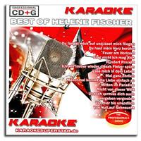 Karaoke CD+G CDG - Das Beste von Helene Fischer - Deutscher Schlager - Neuware