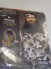 Man One Size Fits Most Duck Dynasty Willie Camo Hunter Halloween Costume