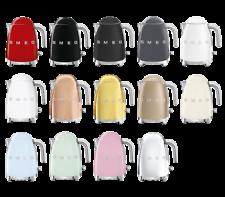 SMEG KLF03 Wasserkocher 50s Retro, automatische Abschaltung,  1,7L,  alle Farben
