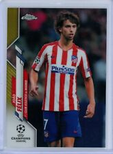 2019-20 Topps Chrome UEFA Gold Refractor #25 Joao Felix #33/50 Atletico Madrid
