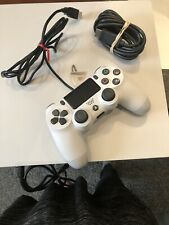PS4 Pro 1TB White Game Console W/Controller & 10 Games