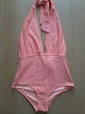 Forever 21 peach swimming costume suit size small swimwear summer