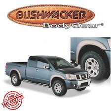 Bushwacker Black Extenda-Style Fender Flares For 04-15 Nissan Titan W/ CargoBox