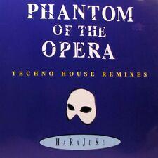 "PHANTOM OF THE OPERA Harajuka - Techno House Remixes 12"" Single"